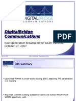 DigitalBridgeCommunicationsPresentation10-17-07