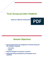 Fever During and After Childbirth
