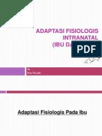 Adaptasi_Fisiologis_Intranatal