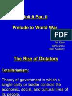 2. Prelude to World War II