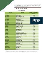 Cjenovnik Presadnica Za 2013-Plant