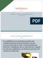 presentacion de Antibióticos