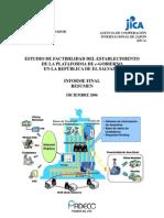 JICA Gobierno Electronico Resumen Espanol - Kamiya