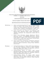 Permenkes 1171 - 2011 Ttg Sistem Informasi Rs