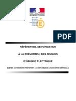 Referentiel Habilitation Electrique
