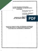 Enmiendas Sección X del Reglamento Hípico