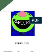 Sample Bplan - Smiley Comics