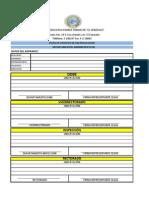Ficha de Proceso de Matricula