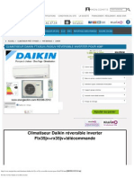 Ftx35jv+Rx35jv Daikin Reversible Inverter