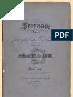 Brahms, Johannes Serenade No.1 D Major Op. 11