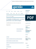 O Trabalho do bibliotecário e os riscos potenciais a sua saúde integral_ considerações em torno do campo da ergonomia _ Souza _ Em Questão.pdf