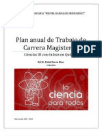 Plan Carrera Magisterial - Caleb