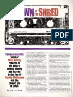 Shrapnel Records History