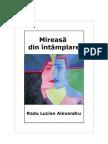 Mireasa din intamplare - Radu Lucian Alexandru