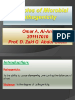 Principles of Microbial Pathogenicity