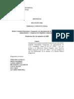 TC-Improcedente a Huanalaya