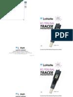 LaMotte 1749 TDS SALT Temperature Tracer PockeTester Instructions