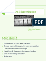 Yarn Mercerization ppt