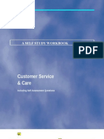 Customer Care Course Workbook