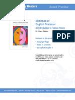 Minimum of English Grammar