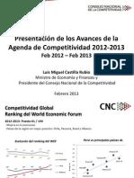 Avances Agenda Competitividad 2012-2013 (1)