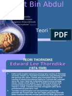 teori thorndike