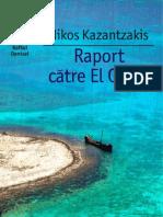 Raport-către-El-Greco