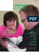 Speech & Language Therapy in Practice, Winter 2011