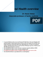 Mental Health Overview