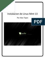 Instalación Linux Mint 13