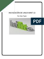 Instalacion de Linux Mint 13