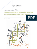 2010 Accounting Alert - PFRS for SMEs