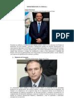 Ministros y Ministerios 2013