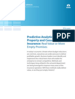 Consulting Whitepaper Predictive Analytics Property Casualty Insurance 05 2011