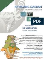 Rencana Tata Ruang Wilayah Kaltim 2012
