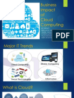 Business Impact of Cloud Computing