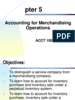 Accounting for Merchandising 2