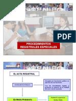 Procedimientos Registrales en OREC