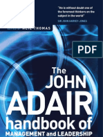 Adair 2004 Handbook of Management and Leadership