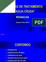 presentación TRATAMIENTO DE AGUAS A COLOR