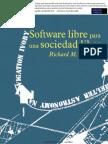 Richard Stallman - Software Libre Para Una Sociedad Libre