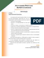 Cead 20131 Administracao Pr - Administracao - Desenvolvimento Economico - Nr (a2ead056) Atividades Praticas Supervisionadas Atps 2013 1 Adm 5 Desenvolvimento Economico