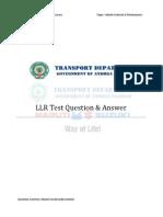 LLR Test EnglishQuestionAnswerCha4