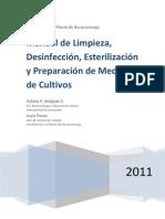 Manual de Limpieza, Medios de Cultivos