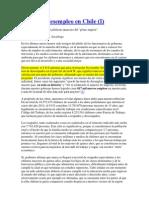 Empleo y Desempleo en Chile