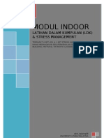 Cadangan MODUL (LDK INDOOR & STRESS MANAGEMENT)