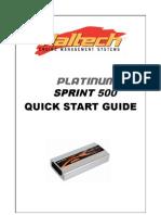 Haltech Platinum Sprint 500 Manual
