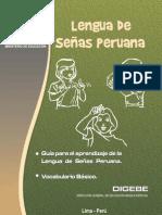Guia para el aprendizaje de la lengua de señas peruana y vocabulario básico