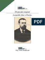 Alas Clarín, Leopoldo - El pecado original
