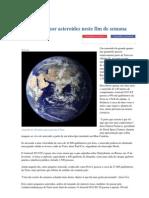 Terra Passa Por Asteroides Neste Fim de Semana - Jornal Da Cidade